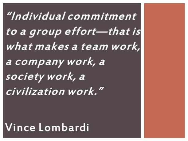 Lombardi-on-Teamwork